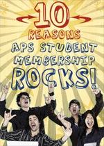 10 Reasons APS Student Membership Rocks