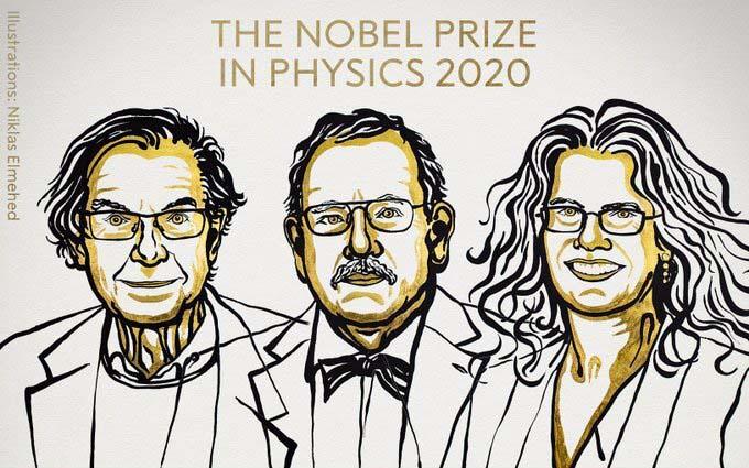 Nobel Prize 2020 winners photo