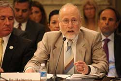 William Halperin during testimony