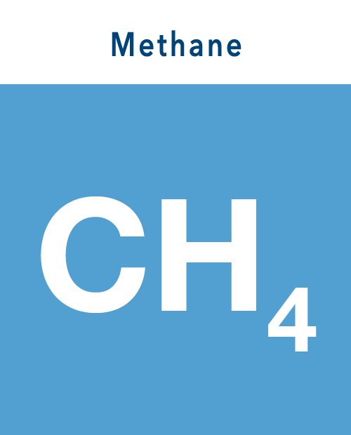 Methane icon with text fix
