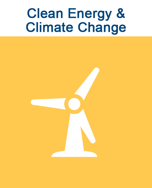 Issues: Clean Energy & Climate Change