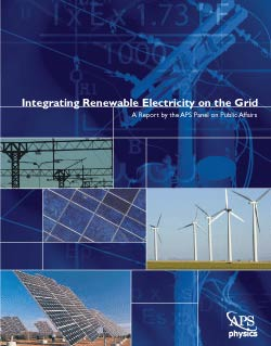 Integrating Renewable Electricity on the Grid cover
