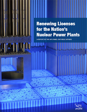 Renewing Licenses for the Nation's Nuclear Power Plants