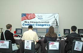 March Meeting 2008 - Contacting Congress