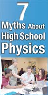 7 Myths About High School Physics