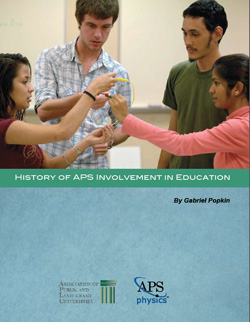 History of APS Involvement in Education