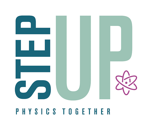 STEPUP logo with tagline