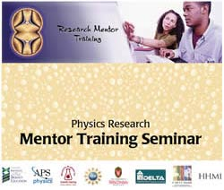 Mentor Training Seminar guide cover