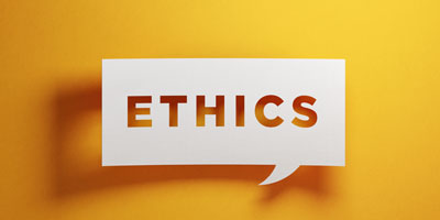 Ethics page image block