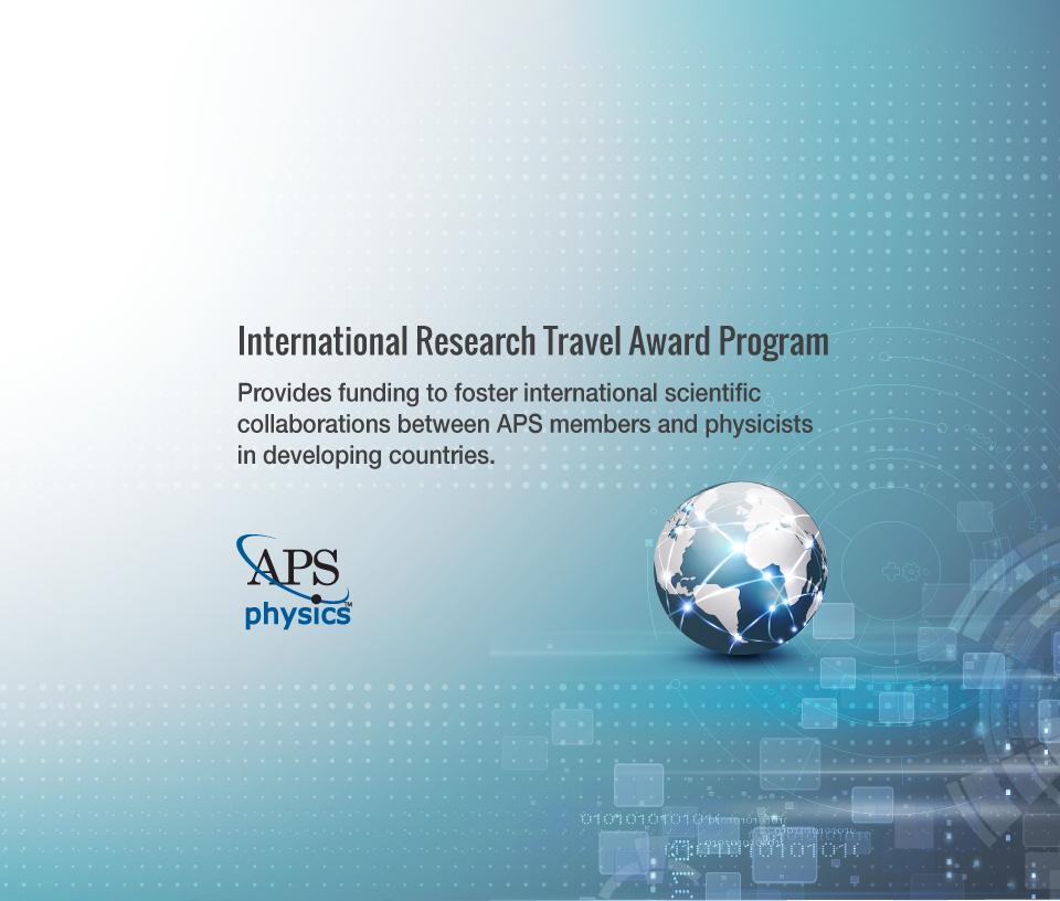 international research travel award program