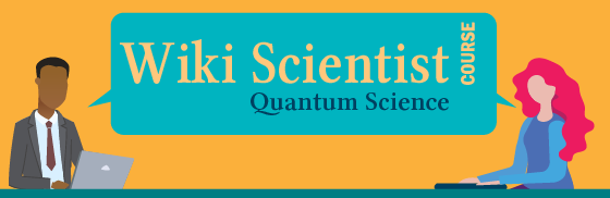 Wiki Scientist Quantum Science logo