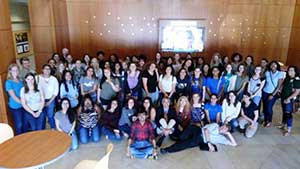 Central Florida Physics Women Society and Women in Lasers and Optics group photo