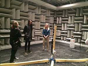 Utah Women in Physics and Astronomy visit anechoic chambers