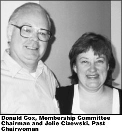 Donald Cox and Jolie Cizewski
