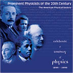 Prominent Physicists of the 20th Century: A CD-ROM Photo Collection