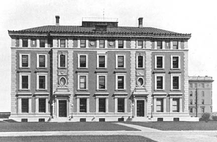 Fayerweather Hall: Columbia University was the site of the first meeting and remained the home of APS for 60 years. (Photo courtesy: Columbia University Archives)