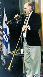 Physics of brass instruments
