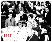 1937: Banquet, Washington DC.