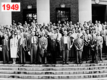 1949: APS 50th Anniversary at Harvard.