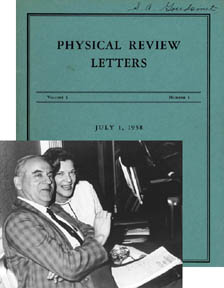 physical review letters to advance and diffuse the knowledge of physics 41072