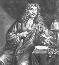 Portrait of Anthony van Leeuwenhoek by Johannes Verkolje