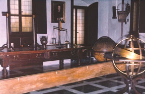 replica of Galileo's workroom