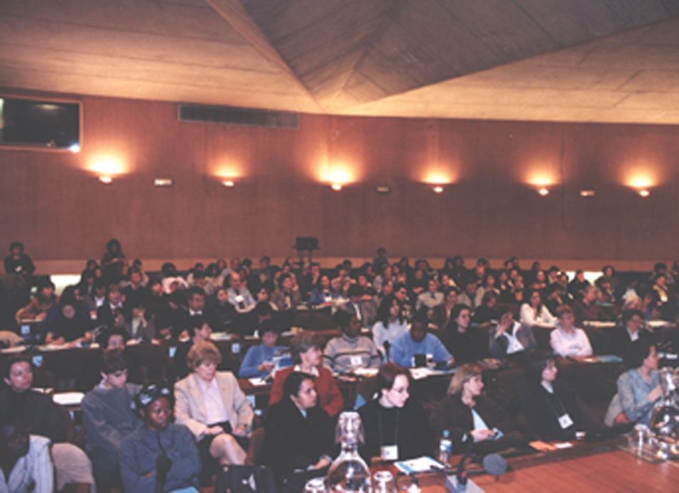 IUPAP held an international conference on women in physics, 7-9 March 2002 in Paris, France.