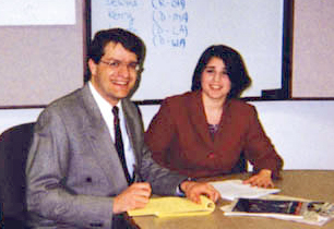 Steve Pierson and Susan Ginsberg
