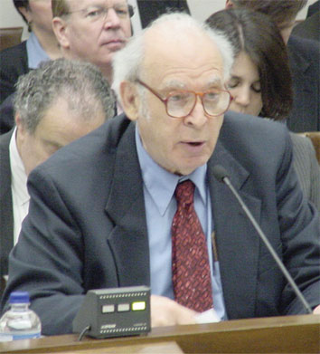 Friedman Testifies in Washington on NSF Doubling Bill