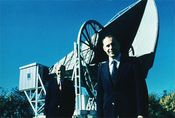 Bell Labs's giant radio antenna at Holmdel that Penzias and Wilson used for their CMB work was designated a National Historic Landmark in 1990.