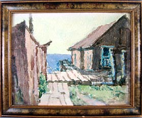 A.A. Michelson painting owned by Robert Ritzmann