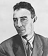 J. Rober Oppenheimer (photo courtesy of the National Archives)