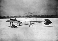 Santos-Dumont's best known plane, 'La Demoiselle.'