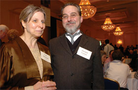 'Lise Meitner' and 'Hendrik Antoon Lorentz' reminisce about bygone days