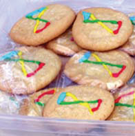 WYP Cookies baked by Grace Johns at Illinois State University.