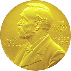 The Nobel Prize; not worth as much as lucrative government contracts