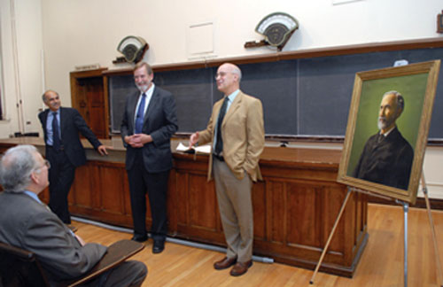 APS and Yale honor J. Willard Gibbs