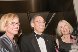 left to right: Liz Rogan, Executive Director, OSA; Steven Chu, Secretary of Energy; and, Kate Kirby, Executive Officer, APS