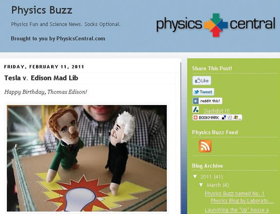 PhysicsBuzz web large