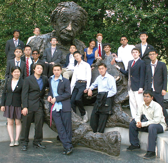 Physics Olympiad Finalists 2012
