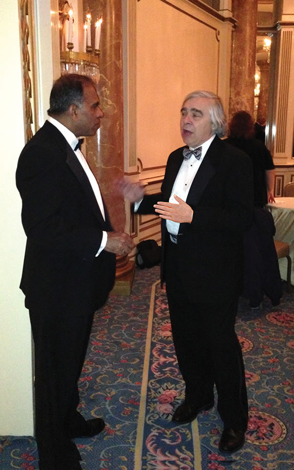 Ernest Moniz and Subra Suresh lge