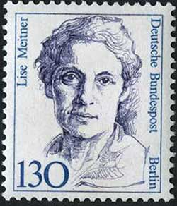 Lise Meitner German stamp