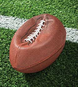 Deflated football image
