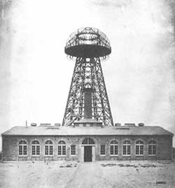 TESLA tower from 1904