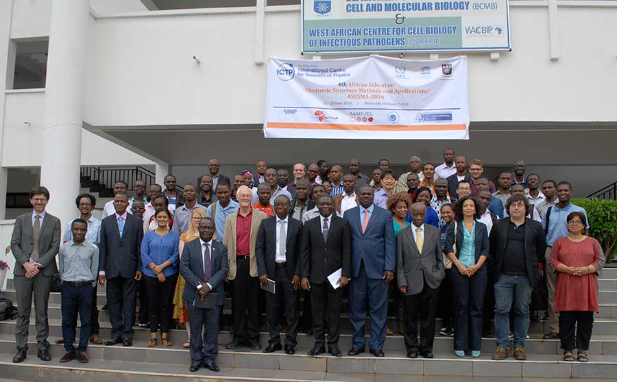 Group photo for ASESMA 2016 in Accra, Ghana