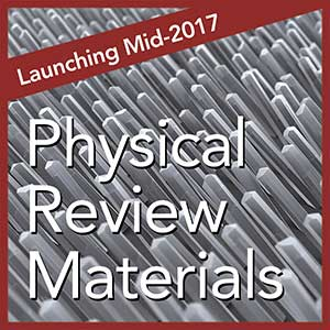 Physical Review Materials logo