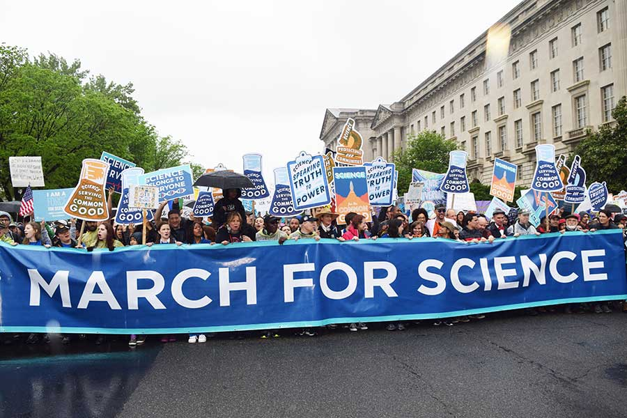 Science March in Washington, DC
