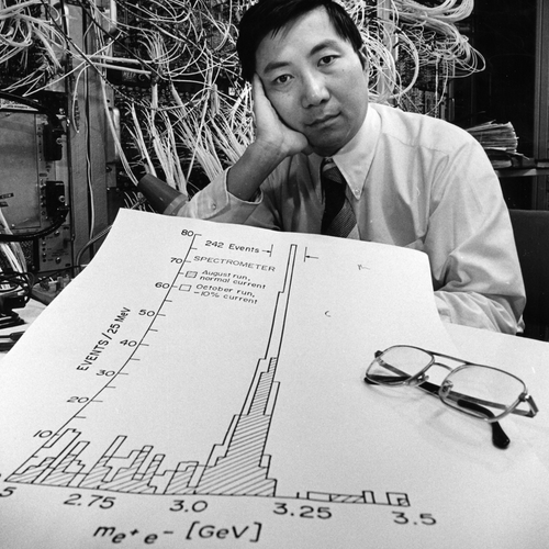 Samuel Ting at Brookhaven National Laboratory