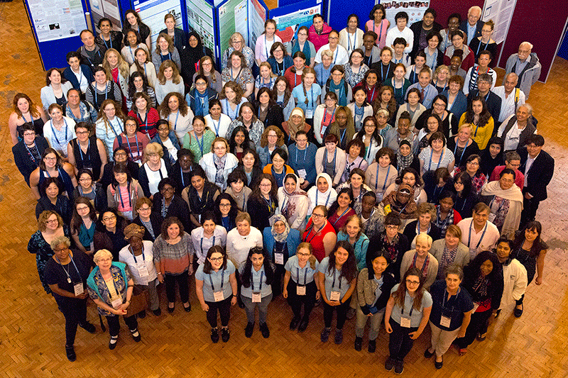 Attendees at the 2017 International Conference on Women in Physics