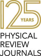 Physical Review Journals 125 years logo